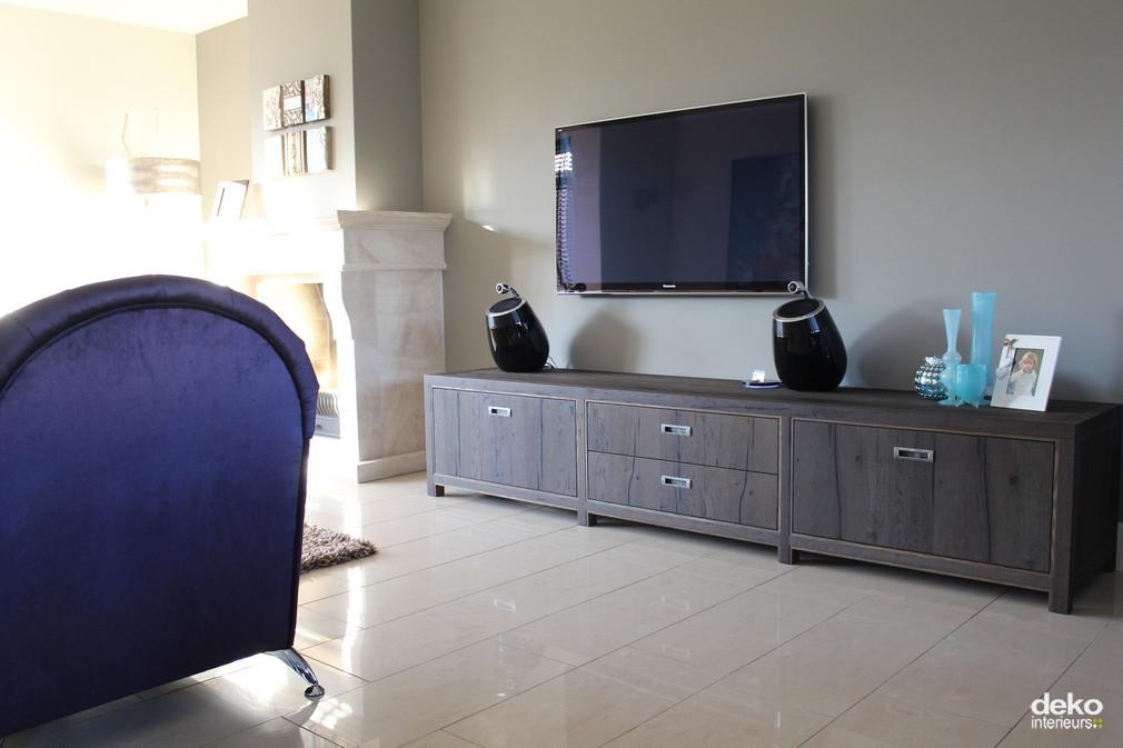 Tv dressoir maatwerk interieurbouw van deko - Een dressoir keuken ...