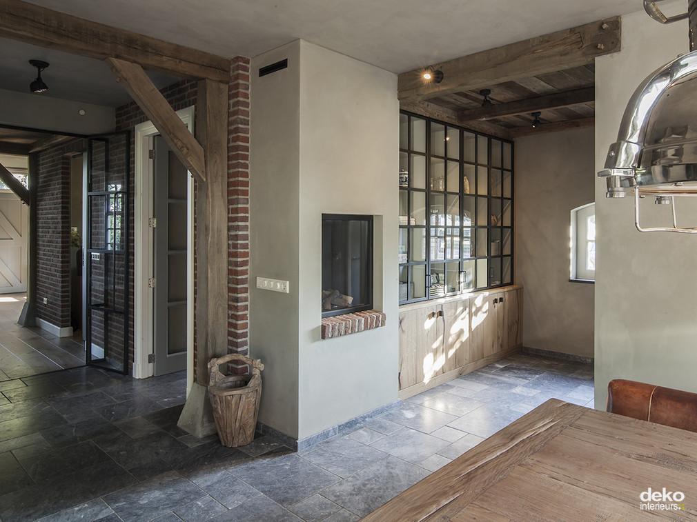 Landelijk interieur maatwerk interieurbouw van deko for Inrichting landelijk modern