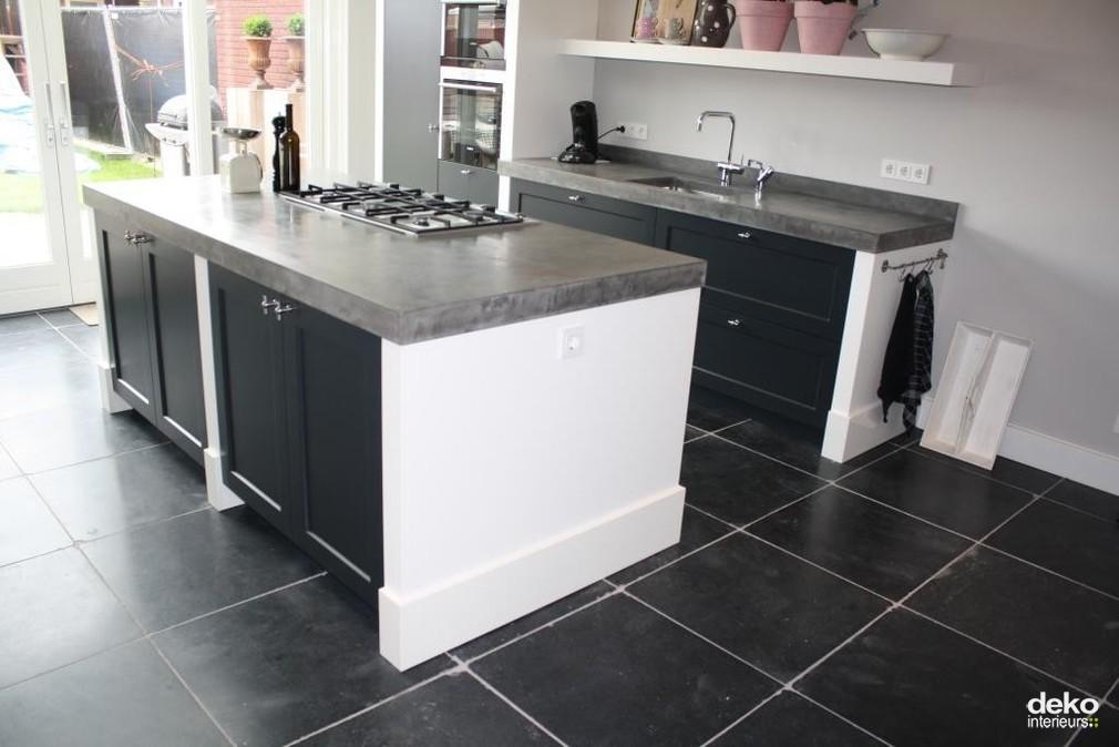 Standaard Keuken Nieuwbouw : Stijlvolle keuken in nieuwbouw huis maatwerk interieurbouw van Deko