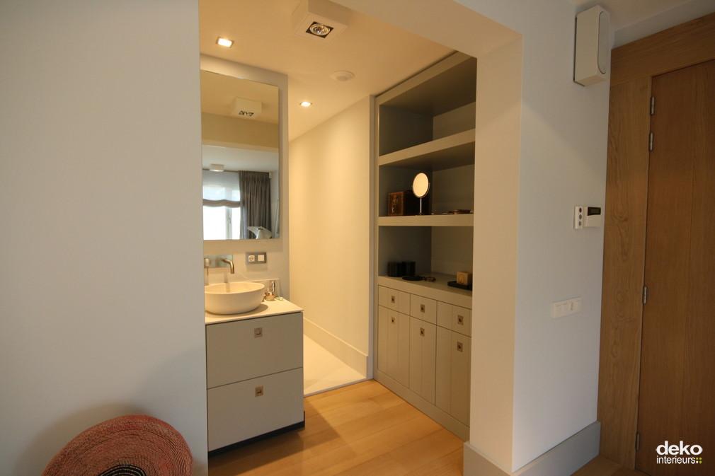 Kleine Open Badkamer ~ Open badkamer  maatwerk interieurbouw van Deko
