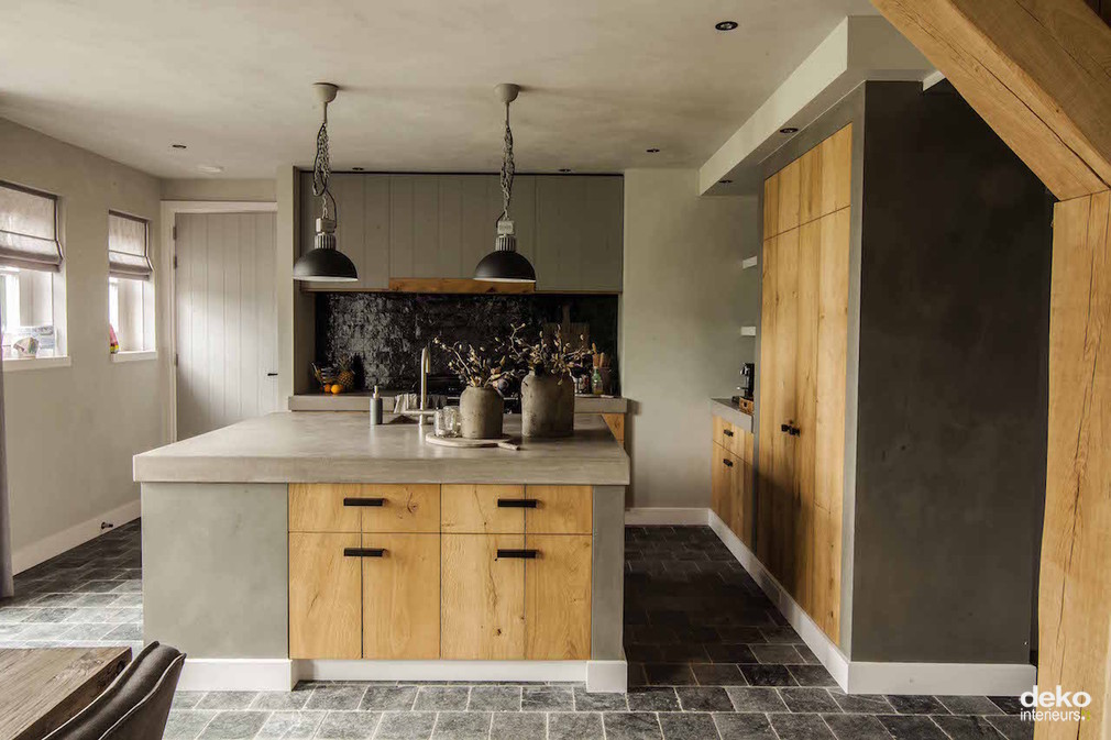 Compleet interieur in landhuis | maatwerk interieurbouw van Deko