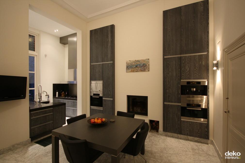 Moderne Keuken In Herenhuis : Interieur gemoderniseerd herenhuis ...