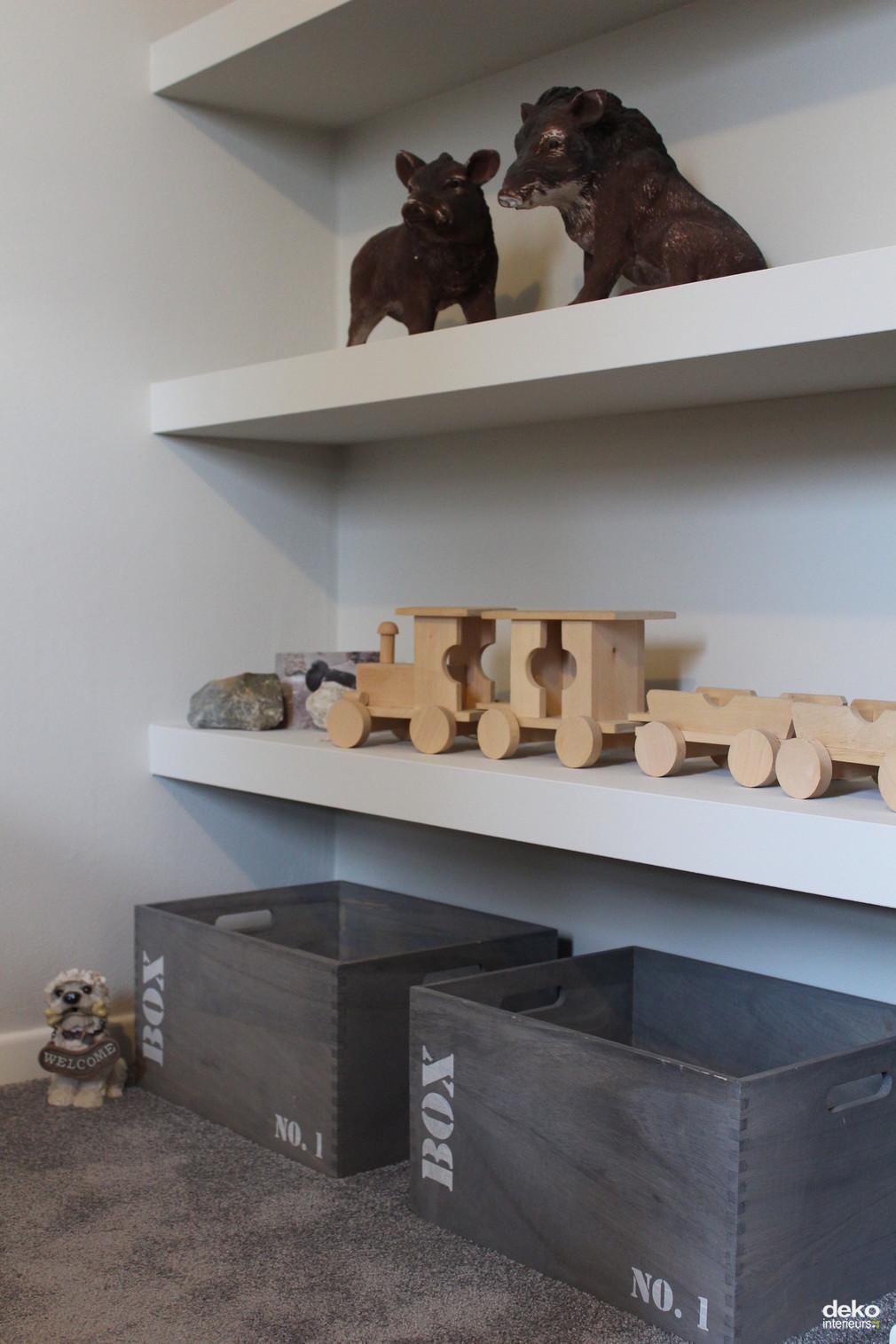 Junior slaapkamer  maatwerk interieurbouw van Deko
